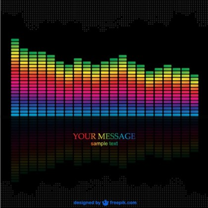 Music Equalizer Download Free Vector