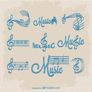 Music Sheet Grunge Free Vector