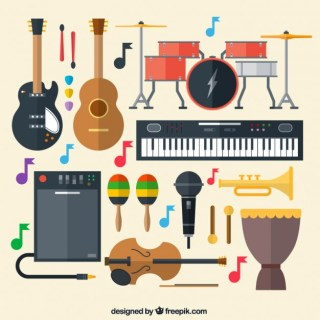 Musical Instruments Free Vector