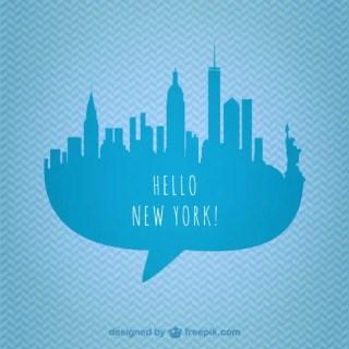 New York Skyline Graphics Free Vector