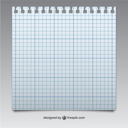 Notebook Page Texture Free Vector