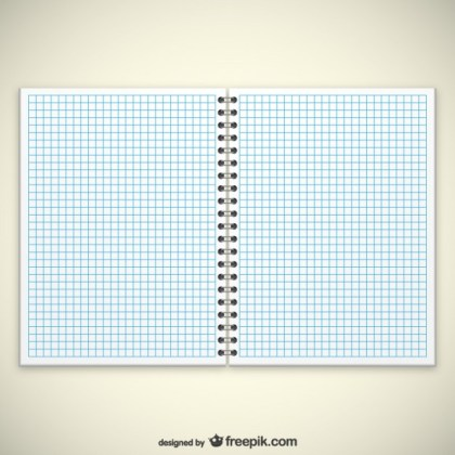 Notebook Pages Free Vector