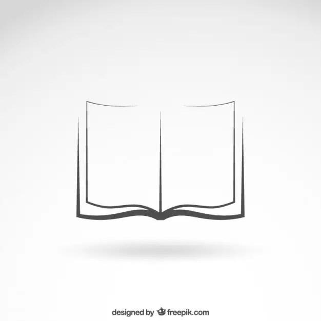 Open Book Icon Free Vector