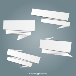Origami White Free Graphics Free Vector