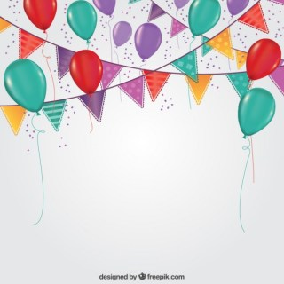 Party Decoration Free Vector