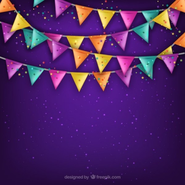 Party Garland Free Vector