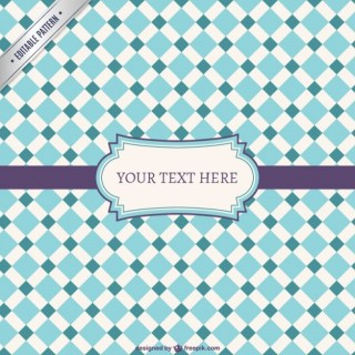 Pattern with Label Free Vector