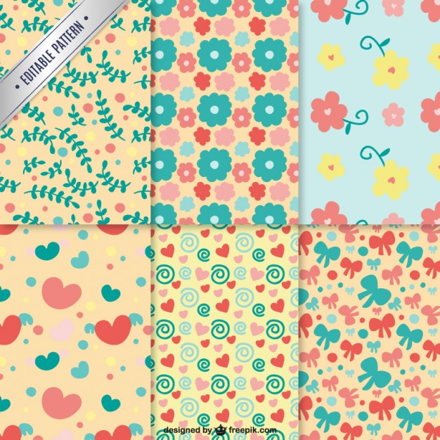 Patterns Free Vector