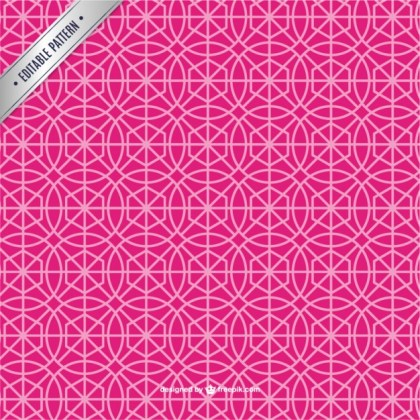 Pink Abstract Pattern Free Vector