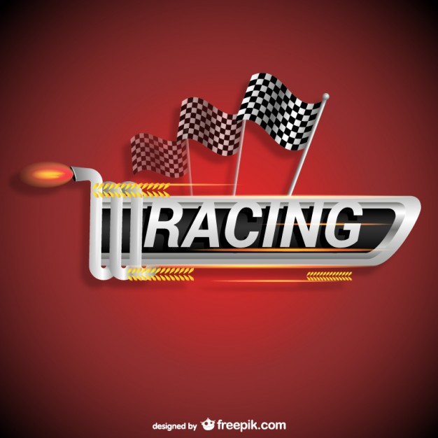 Racing Logo Free Vector