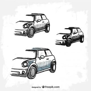 Retro Car Free Download Free Vector