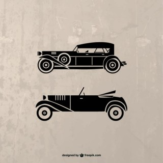 Retro Car Illustration Free Vector