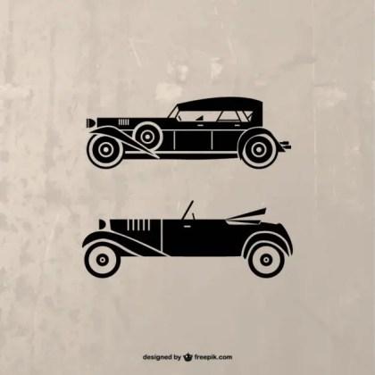 Retro Car Illustration Free Vector