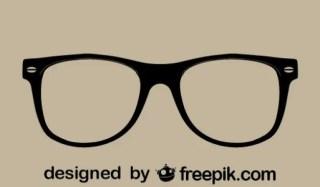 Retro Vector Glasses Free Vector
