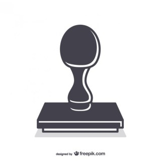 Rubber Stamp Tool Free Vector