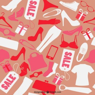 Seamless Fashion Pattern Free Vector