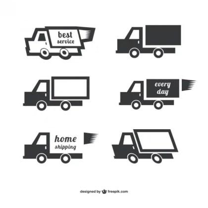 Shipping Logo Free Vector