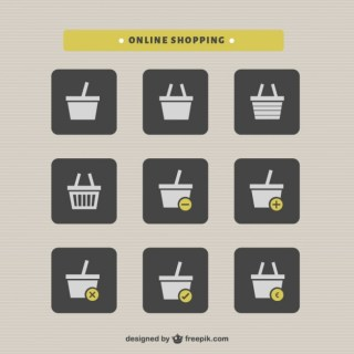 Shopping Basket Online Shopping Free Vector