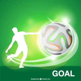 Soccer Ball Goal Free Vector