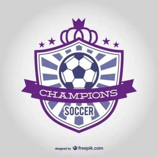 Soccer Club Emblem Free Vector