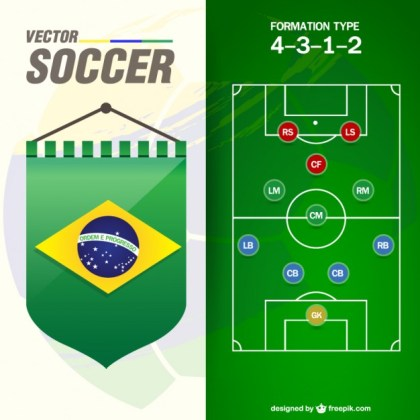 Soccer Game Free Free Vector