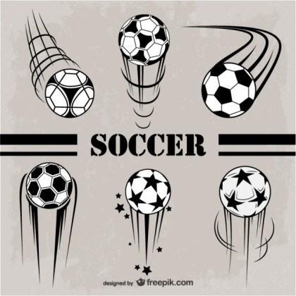 Soccer Graphics Free Free Vector