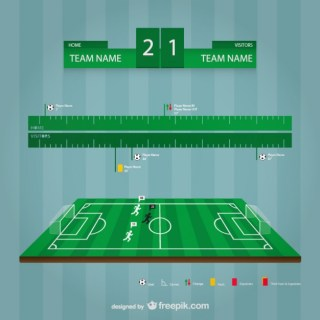 Soccer Stadium Template Free Vector