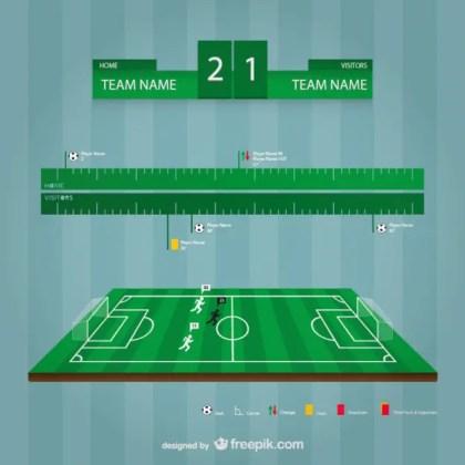 Soccer Stadium Template Free Vector