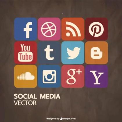 Social Media Free Free Vector
