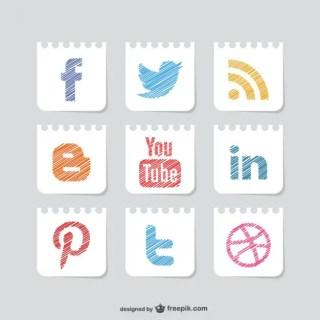 Social Media Free Vector