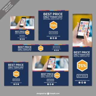 Special Discount Banners Collection Free Vector