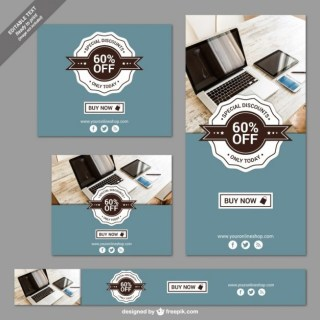 Special Discounts Banners Free Vector