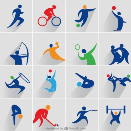 Sports Icons Free Vector