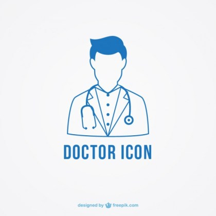 The Doctor Icon Free Vector