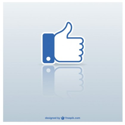 Thumb Up Icon Free Vector
