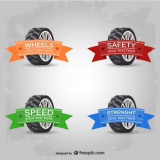 Tire Free Collection Free Vector