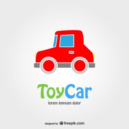 Toy Car Free Vector