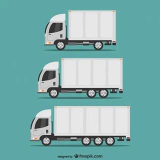 Transportation Trucks Free Vector