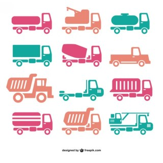 Truck Icon Free Vector