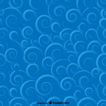 Vector Art Chinese Cloud Pattern Isolated on Red Background Free Vector
