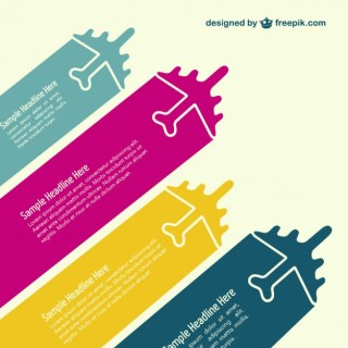 Vector Backround Jet Planes Template Free Vector