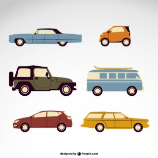 Vector Cars Free Pack Free Vector