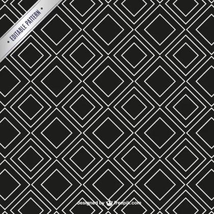 Vector Dark Seamless Pattern Free Vector
