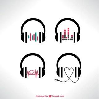 Vector Headphones Free Vector
