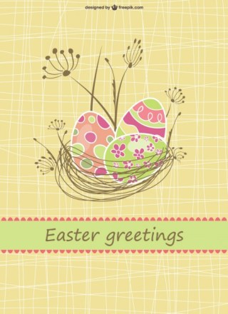 Vector Illustration Easter Free Vector