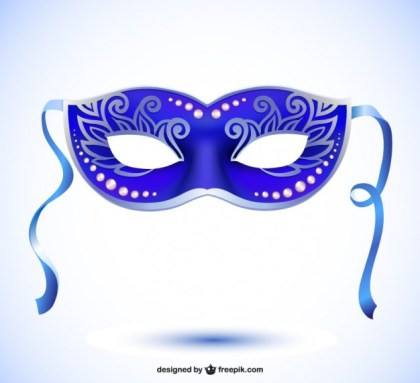Vector Mask Carnival Style Free Vector