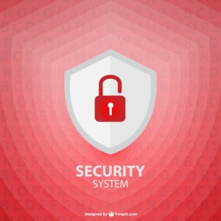 Vector Security Shield Template Free Vector