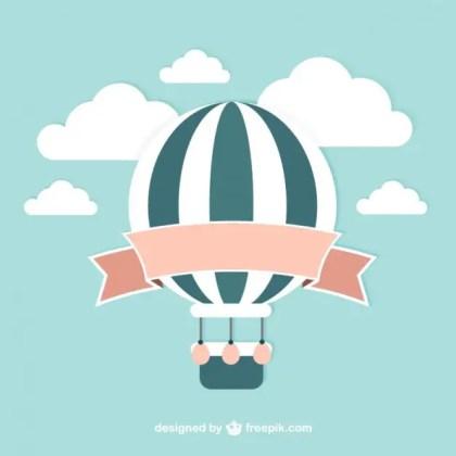Vintage Balloon Free Vector