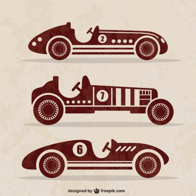 Vintage Cars Free Vector