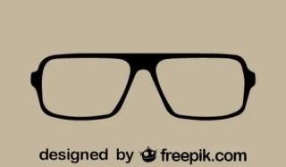 Vintage Style Eyeglasses Free Vector